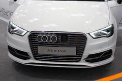 The Audi A3 E-Tron Stock Photo
