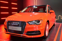Audi A3 e-tron hybrid vehicle Royalty Free Stock Photos
