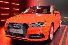 Audi A3 e-tron hybrid vehicle Royalty Free Stock Photos