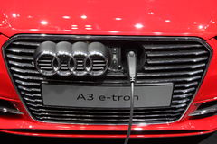 Audi A3 e-tron Stock Photos