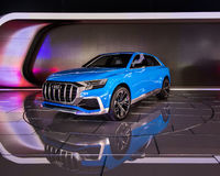 Audi e-tron Q8 Concept Stock Photos