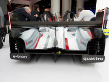 Audi e-Tron R18 bakre sikt Arkivfoto