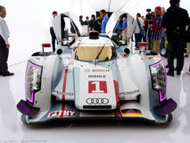 Audi e-Tron R18 Front View stock afbeelding