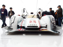Audi e-Tron R18 Front View Stock Photography