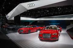 2016 Audi eksponat Obrazy Stock