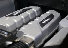 Audi Engine Stock Photo