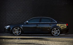 Audi A4 exterior luxury car Stock Photography
