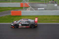 Audi FIA GT1 på racen Arkivfoto