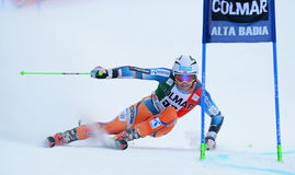 AUDI FIS WORLD CUP - ALTA BADIA ITALY GIANT SLALOM Royalty Free Stock Photo