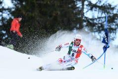 AUDI FIS WORLD CUP - ALTA BADIA ITALY GIANT SLALOM Royalty Free Stock Photos