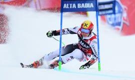 AUDI FIS WORLD CUP - ALTA BADIA ITALY GIANT SLALOM Stock Photography