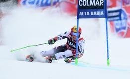 AUDI FIS WORLD CUP - ALTA BADIA ITALY GIANT SLALOM Stock Image