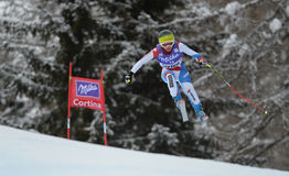 Audi FIS World Cup - Women's Downhill Royalty Free Stock Images