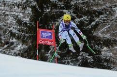 Audi FIS World Cup - Women's Downhill Stock Image