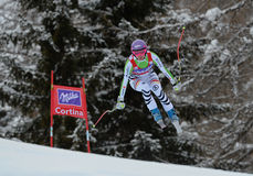 Audi FIS World Cup - Women's Downhill Royalty Free Stock Image