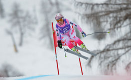 Audi FIS World Cup - Women's Downhill Royalty Free Stock Photography