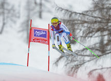 Audi FIS World Cup - Women's Downhill Stock Photography