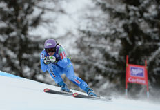 Audi FIS World Cup - Women's Downhill Stock Images