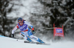 Audi FIS World Cup - Women's Downhill Royalty Free Stock Photo