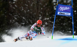Audi FIS World Cup - Women's Giant Slalom Stock Image
