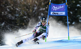 Audi FIS World Cup - Women's Giant Slalom Stock Images