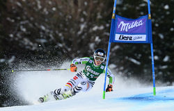 Audi FIS World Cup - Women's Giant Slalom Royalty Free Stock Image