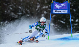 Audi FIS World Cup - Women's Giant Slalom Royalty Free Stock Images