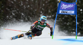 Audi FIS World Cup - Women's Giant Slalom Royalty Free Stock Photography