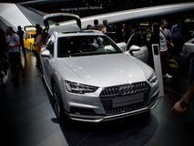 Audi A6 at Geneva 2016 Royalty Free Stock Photography
