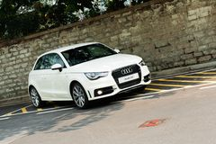 Audi A1 Hatchback Royalty Free Stock Images