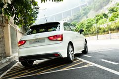 Audi A1 Hatchback Royalty Free Stock Image