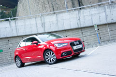 Audi A1 Hatchback Stock Images