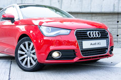 Audi A1 Hatchback Royalty Free Stock Photos