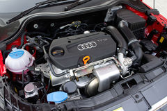 Audi A1 Hatchback Stock Photo