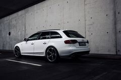 Audi Hatchback on Tunnel Royalty Free Stock Photos