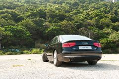 Audi A8L Long Base Sedan Stock Image