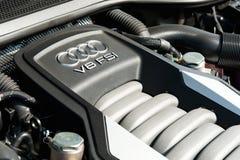 Audi A8L Long Base Sedan Stock Images