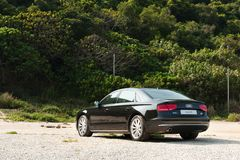 Audi A8L Long Base Sedan Royalty Free Stock Photography