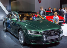 Audi A8 l quattro W12 Стоковые Изображения RF