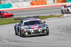 Audi LMS Cup 2013 Audi R8 Super Car Royalty Free Stock Photos