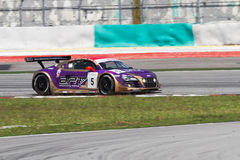 Audi LMS Cup 2013 Audi R8 Super Car Royalty Free Stock Image