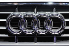 Audi logo Royalty Free Stock Photo