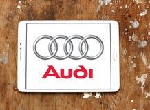 Audi logo Royalty Free Stock Image