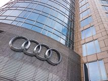 Audi logo Royalty Free Stock Images