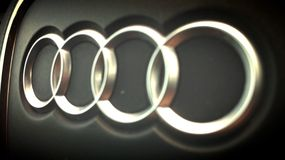 Audi macro photo Royalty Free Stock Photography