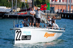 Audi Medcup Circuit 2011 Royalty Free Stock Images