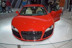 Audi model 2009 Stock Images
