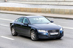 Audi A7 Royalty Free Stock Photography
