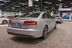 Audi A6 na exposição Foto de Stock Royalty Free