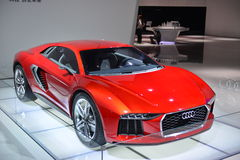 Audi Nanuk quattro concept car Stock Images